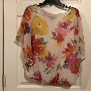 Beautiful Floral Blouse by Sweet Pea